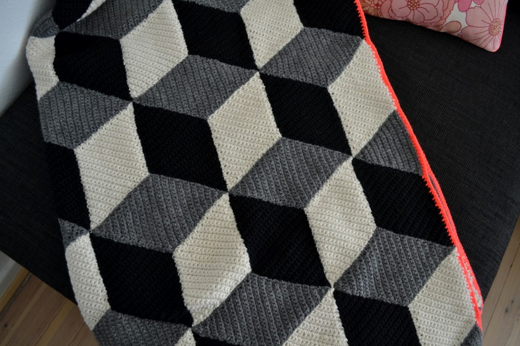Hæklet tæppe (2)